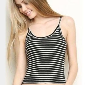 🍁 Brandy Melville Striped tank top